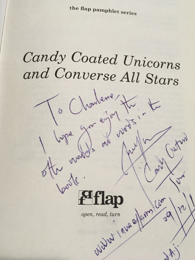 signed candy